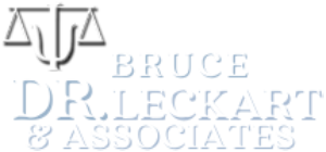 Dr. Leckart & Associates Logo in white